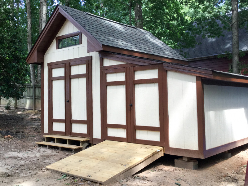 The Premier Shed Is Our Top Of The Line Storage Shed Designed To Look  Similar To Your House And It Is Excellent For Utility And Tool Storage.